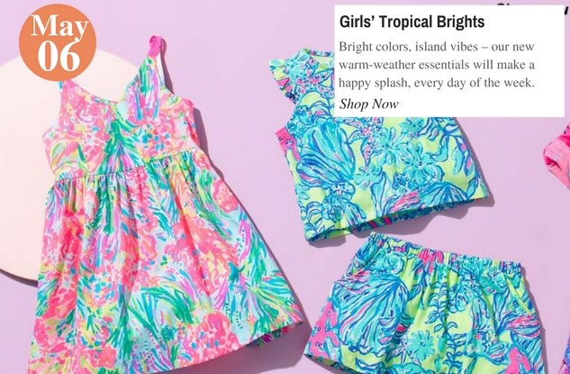 Girls' Tropical Brights