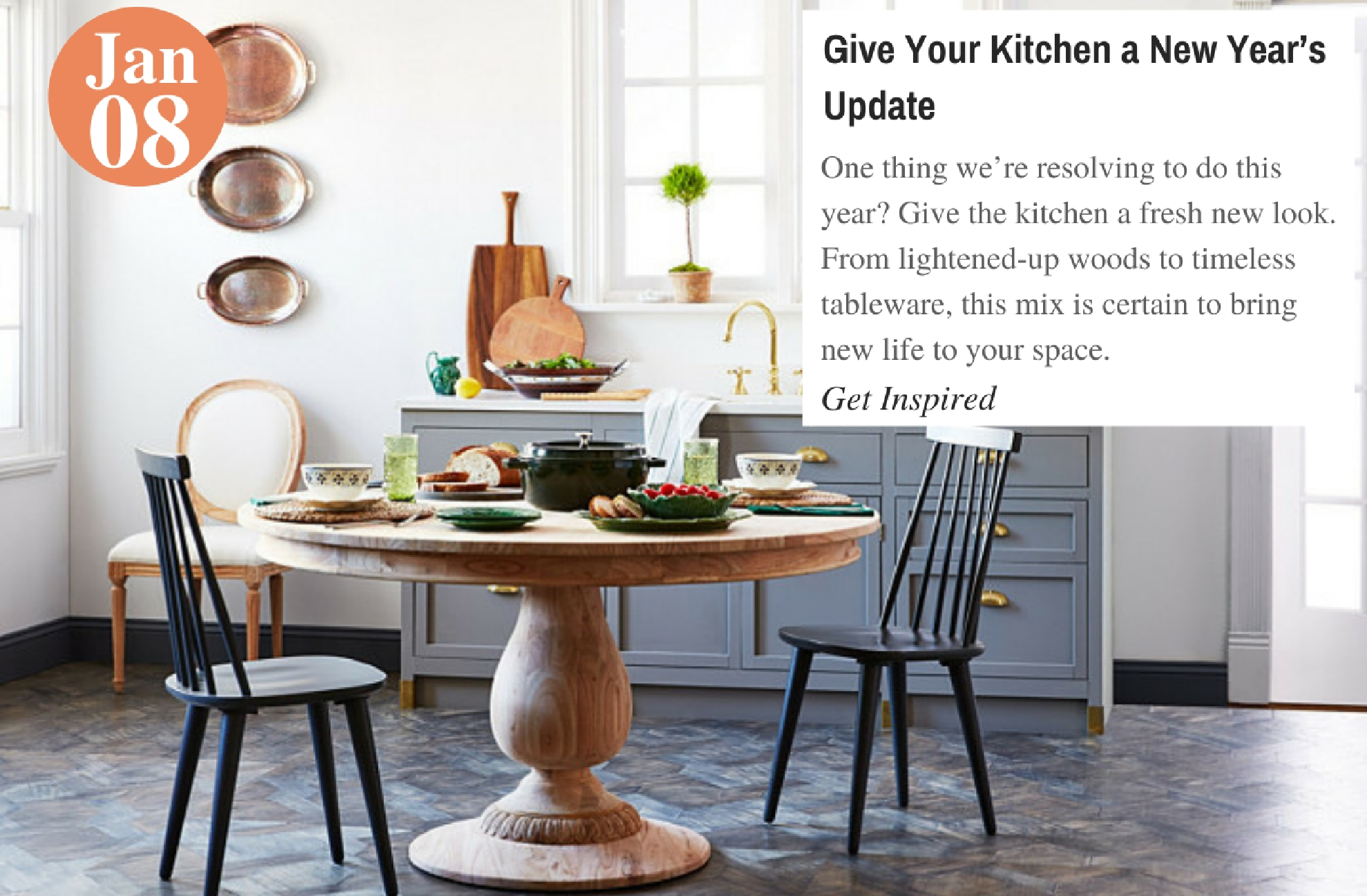 Give Your Kitchen a New Year's Update