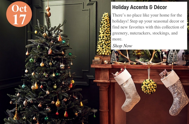 Holiday Accents & Décor