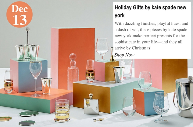 Holiday Gifts by kate spade new york