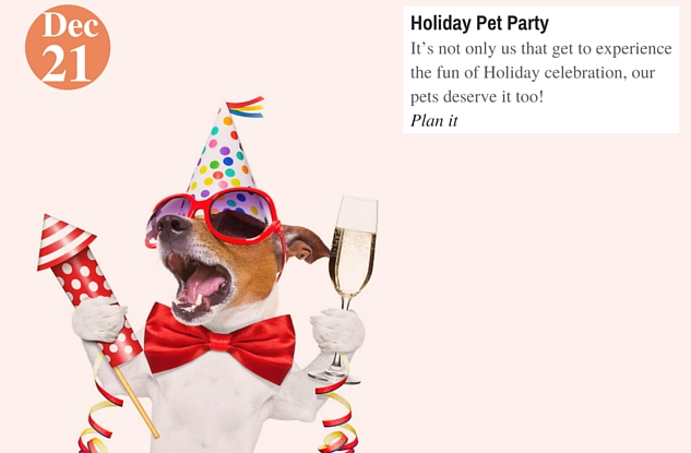 Holiday Pet Party