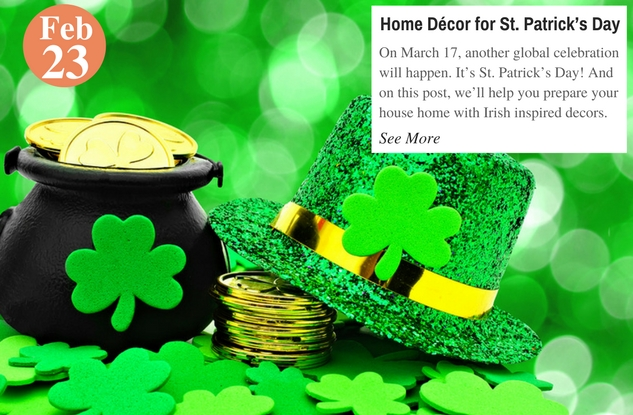 Home Décor for St. Patrick's Day