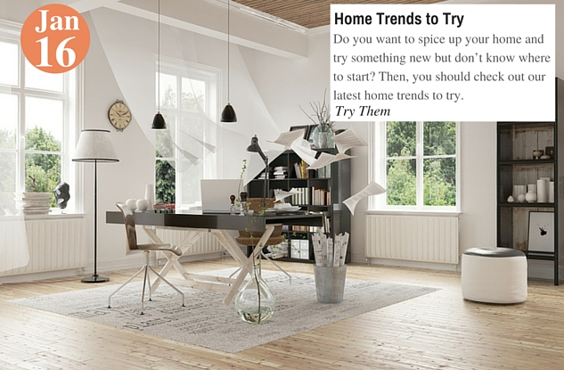 Home Trends to Try