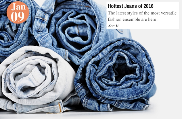 Hottest Jeans of 2016