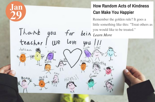 How Random Acts of Kindness Can Make You Happier