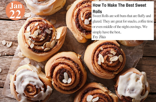 How To Make The Best Sweet Rolls