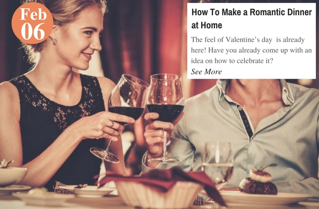 How To Make a Romantic Dinner at Home