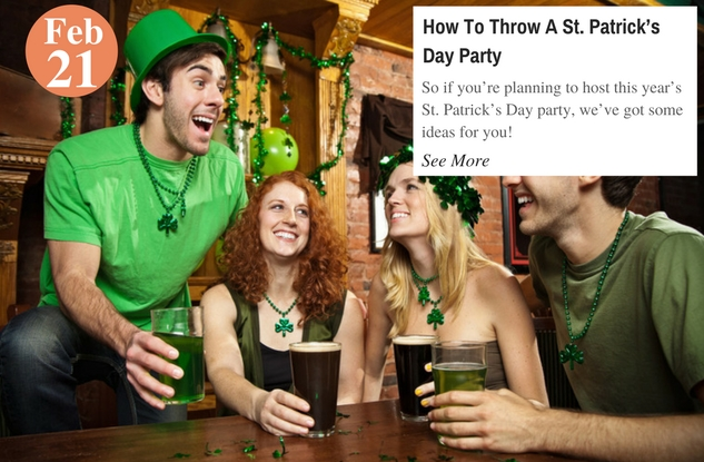 How To Throw A St. Patrick's Day Party