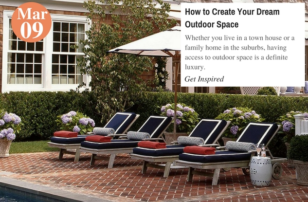 How to Create Your Dream Outdoor Space