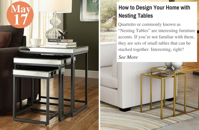 How to Design Your Home with Nesting Tables
