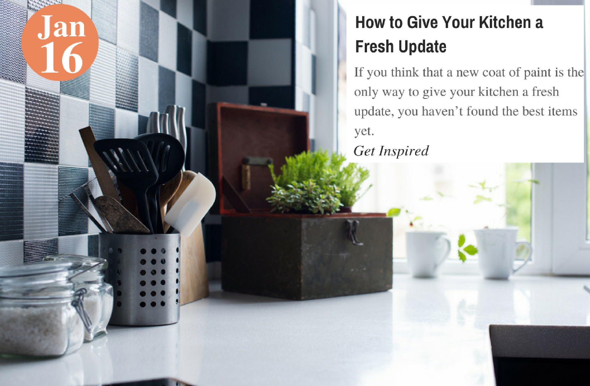 How to Give Your Kitchen a Fresh Update