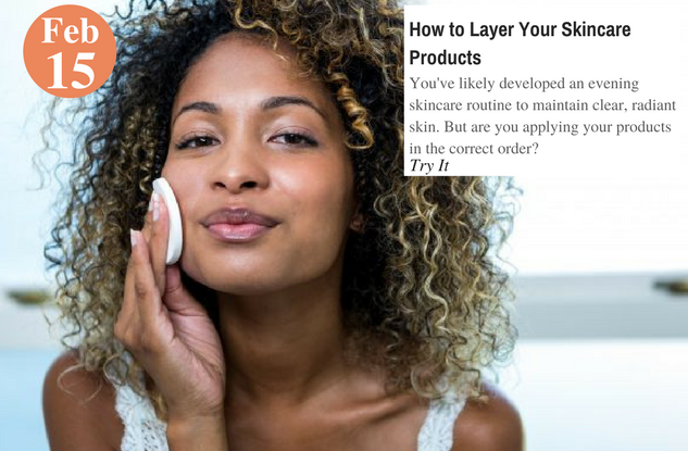 How to Layer Your Skincare Products