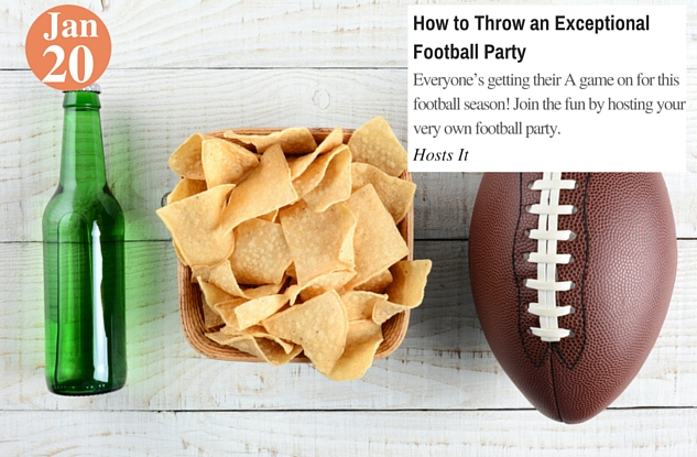 How to Throw an Exceptional Football Party