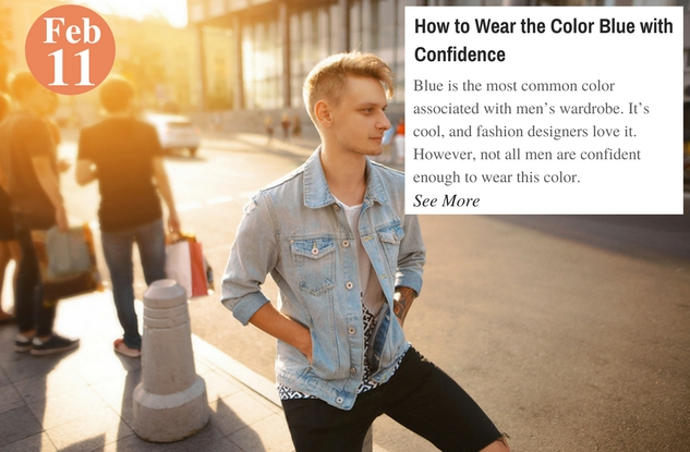 How to Wear the Color Blue with Confidence