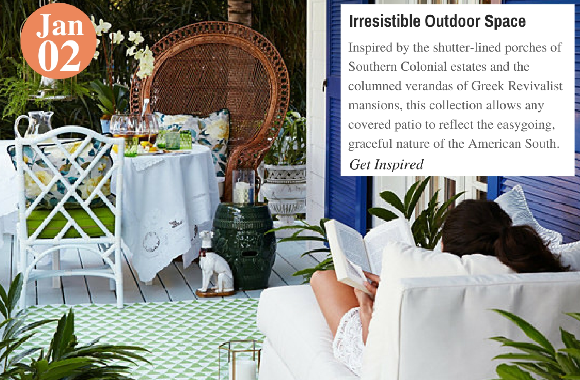 Irresistible Outdoor Space