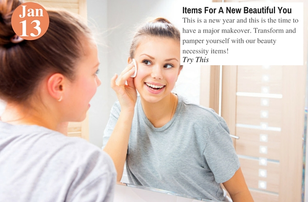 Items For A New Beautiful You