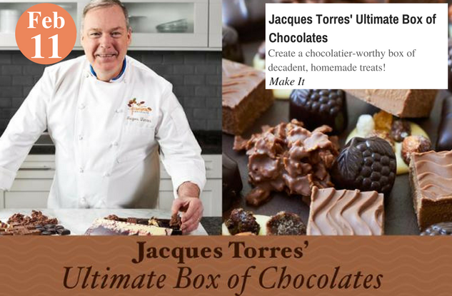 Jacques Torres' Ultimate Box of Chocolates