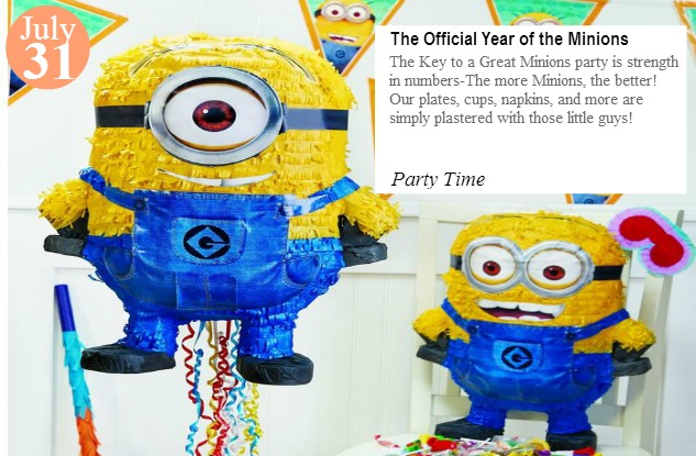 July31-year of the Minions