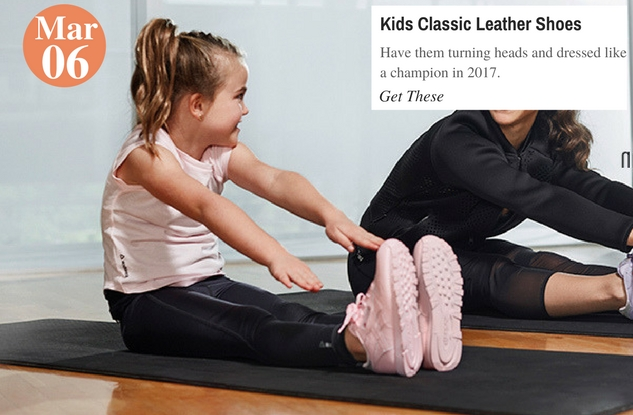 Kids Classic Leather Shoes
