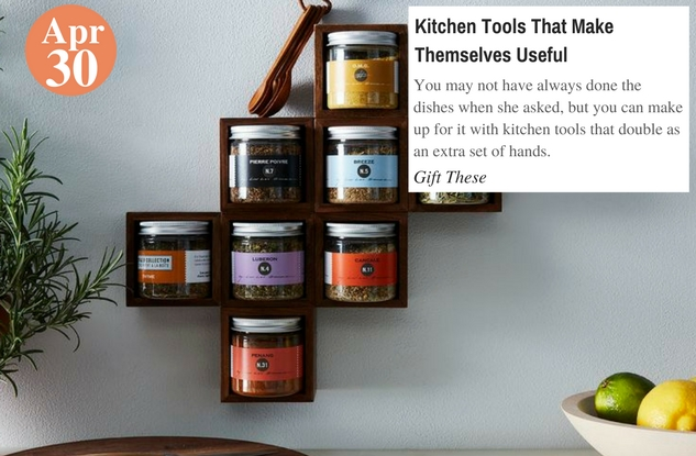 Kitchen Tools That Make Themselves Useful