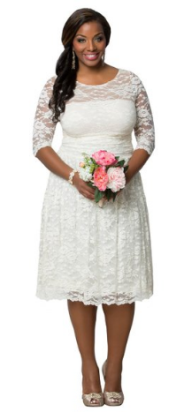 Kiyonna Aurora Lace Wedding Dress