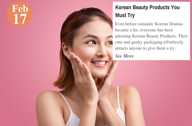 Korean Beauty Products You Must Try