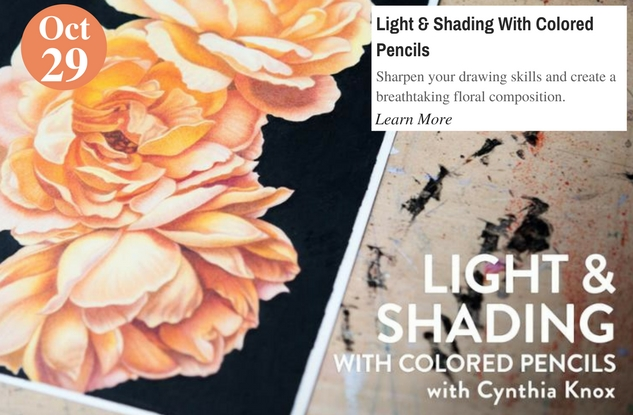 Light & Shading With Colored Pencils