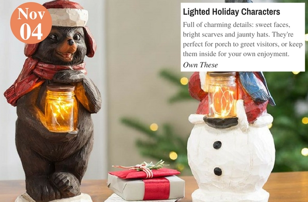 Lighted Holiday Characters