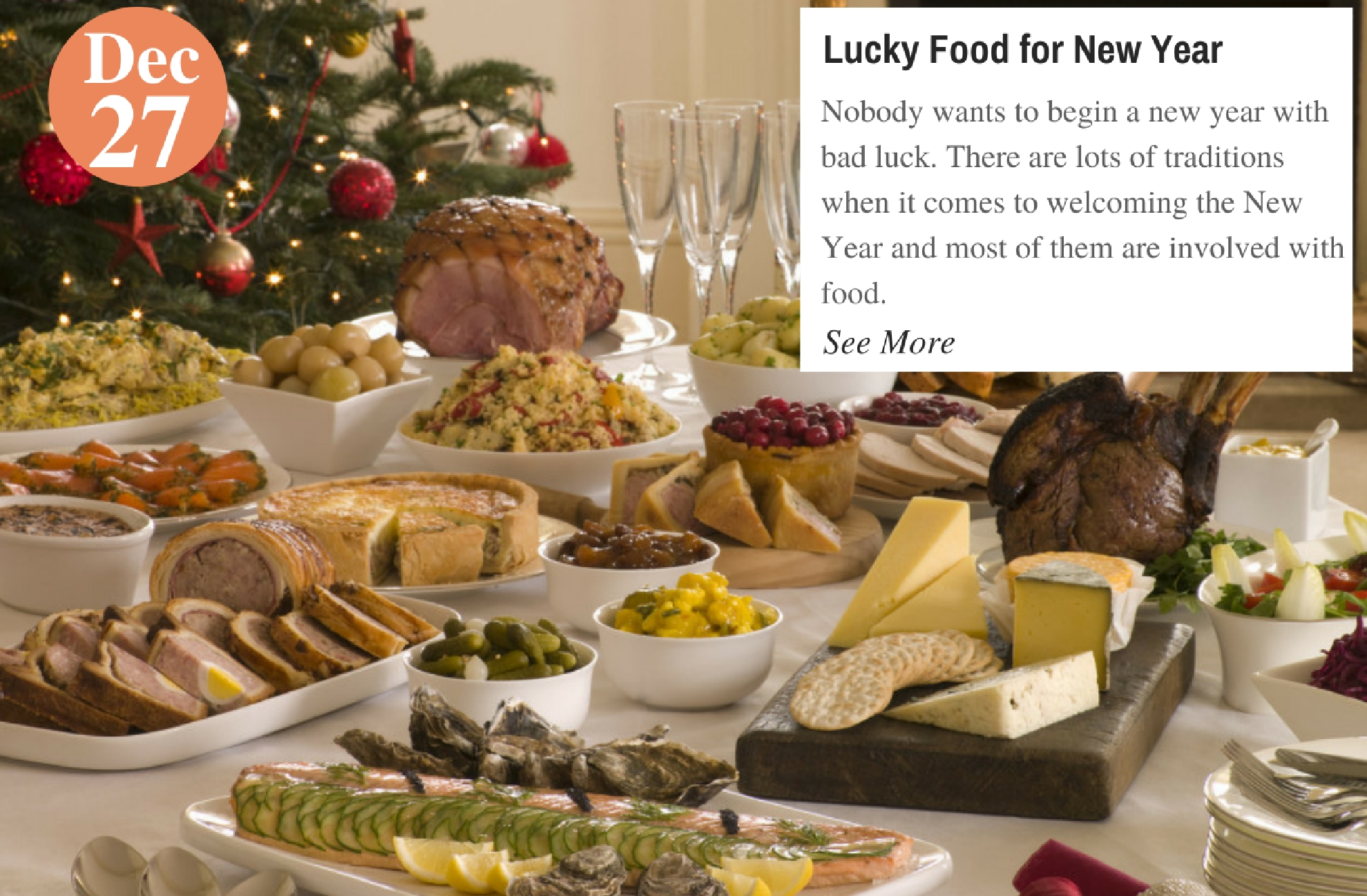Lucky Food for New Year
