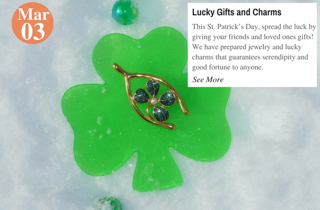 Lucky Gifts and Charms
