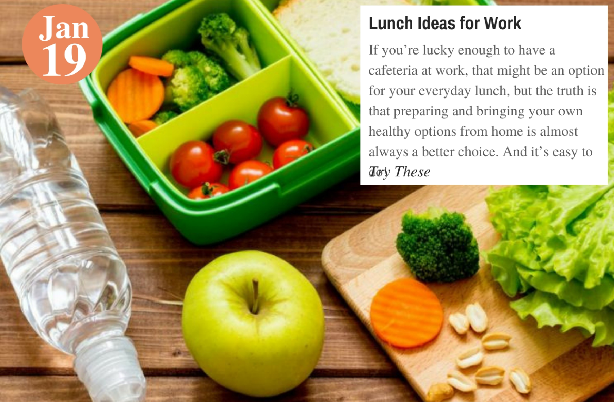 Lunch Ideas for Work (1)