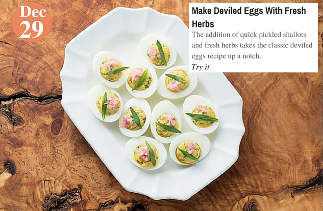 Make Deviled Eggs With Fresh Herbs