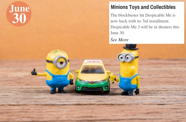 Minions Toys and Collectibles