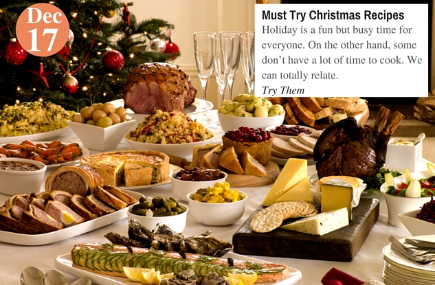 Must Try Christmas Recipes