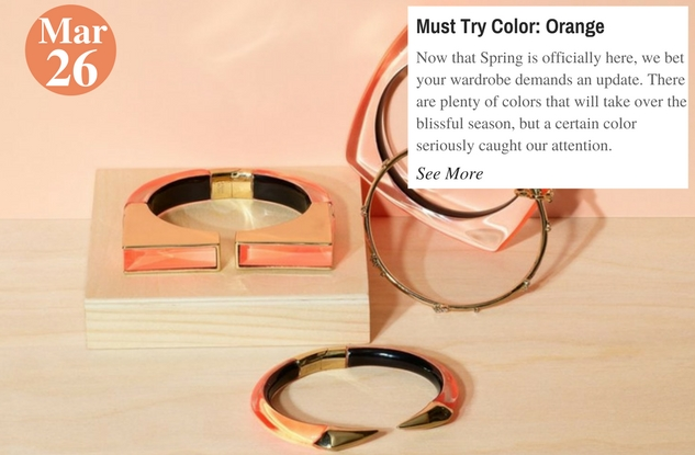 Must Try Color Orange