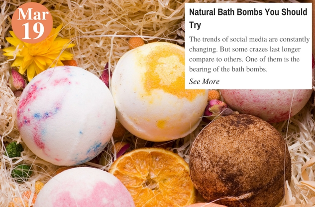 Natural Bath Bombs You Should Try