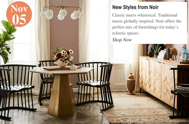 New Styles from Noir