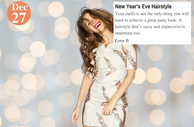 New Year's Eve Hairstyle