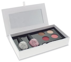 OPI Blushing Bride Beauy Kit for Nails, Eyes and Lips