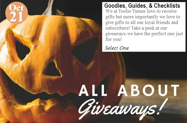 October21- Giveaways