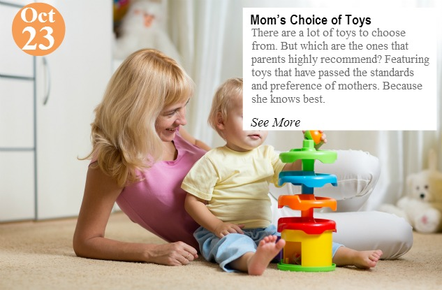 mother and her child boy playing with colorful logical toy