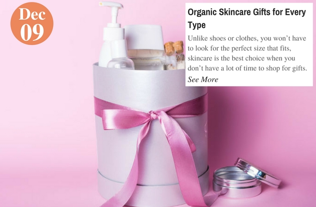 Organic Skincare Gifts for Every Type