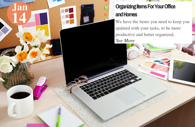 Organizing Items For Your Office and Homes