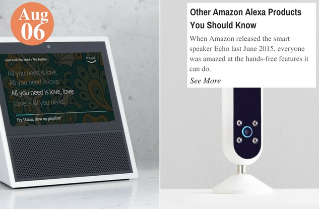 Other Amazon Alexa Products You Should Know