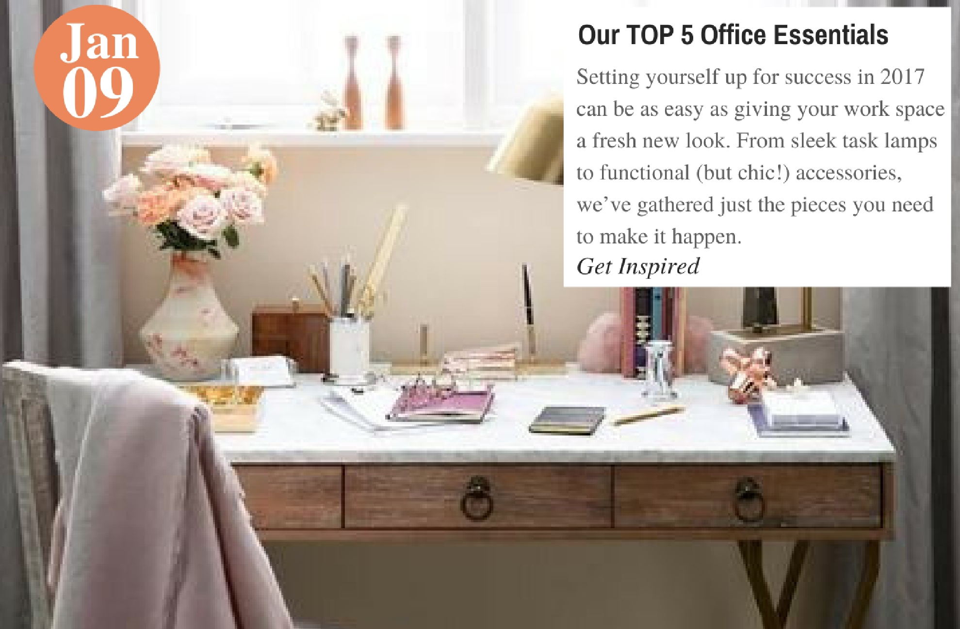 Our TOP 5 Office Essentials