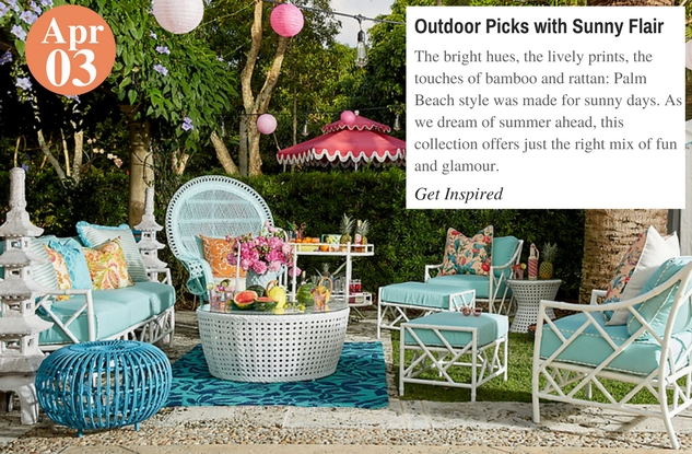 Outdoor Picks with Sunny Flair