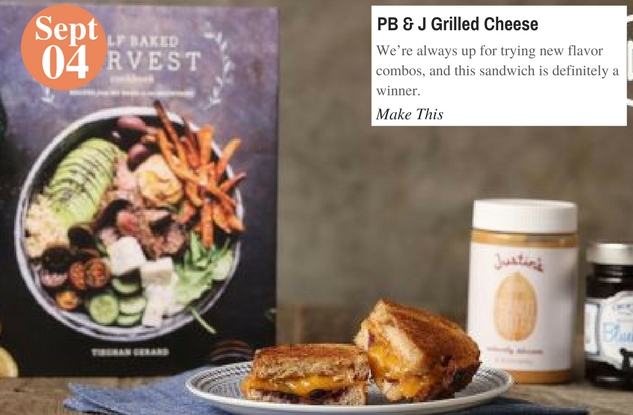 PB & J Grilled Cheese