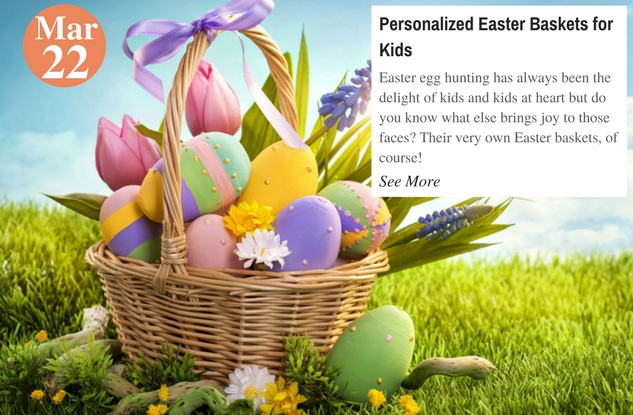 Personalized Easter Baskets for Kids