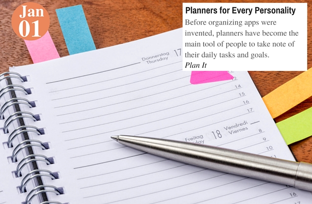 Planners for Every Personality
