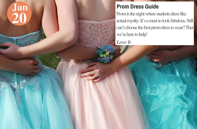 Prom Dress Guide